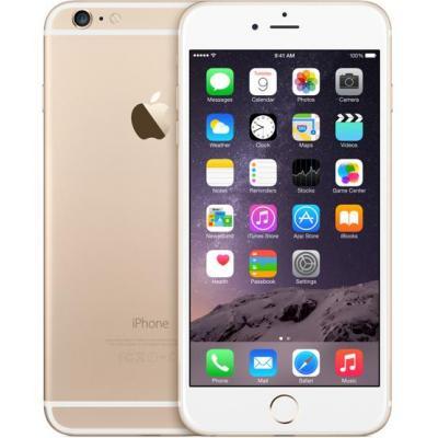 Apple 6 Plus 16GB Gold | Refurbished | Als nieuw Smartphones