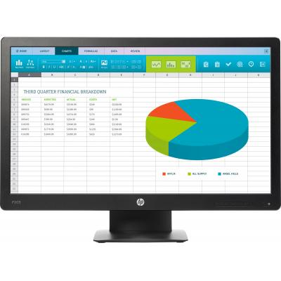 "HP ProDisplay P203 20"" HD+ TN Monitor - Zwart"
