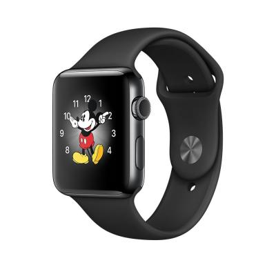 Apple smartwatch: Watch Series 2 Space Black Stainless Steel 42mm