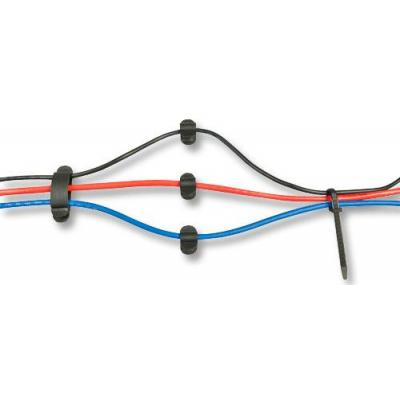 Lindy 40763 Kabelbinder - Zwart, Transparant