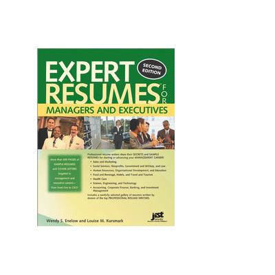 Jist publishing boek: Expert Resumes for Managers and Executives - eBook (PDF)