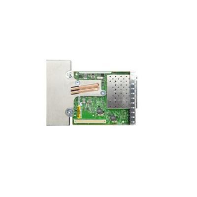 Dell netwerkkaart: Broadcom 57840S QP 10GB SFP+ Netwerkdochterkaart (Kit) - Groen