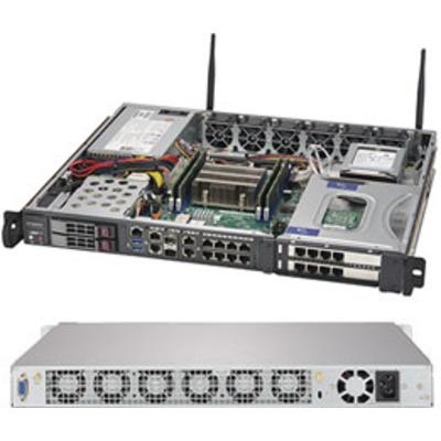 Supermicro 1019D-FHN13TP Server - Zwart