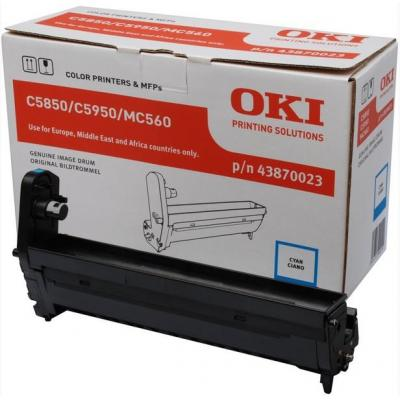 OKI drum: Cyan image drum for C5850/5950