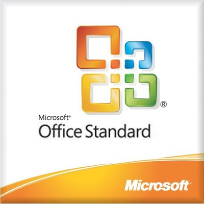 Microsoft software suite: Office Standard, OLV-D, L/SA, 3Y Acq Y1, AP