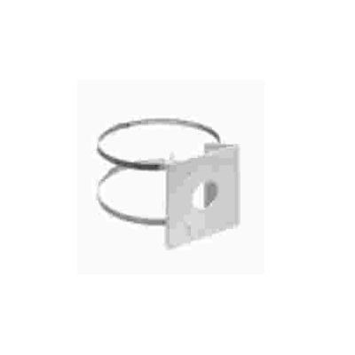 Acti beveiligingscamera bevestiging & behuizing: Pole Mount (for A8x), White , Aluminum - Wit