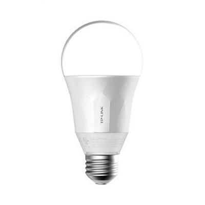 Tp-link personal wireless lighting: Wi-Fi 802.11 b/g/n, 2.4 GHz, E26, LED, 105 g, 600 lm, 8 W, 2700 K, 108 - 132 V - Wit