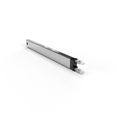 PATCHBOX ® 365 Cat.6a Cassette (STP, Grey, 0.8m / 8RU) Netwerkkabel - Grijs