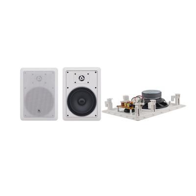 Kramer Electronics Kramer Galil-6-I, in-wall spk, 80W, 2 st 6,5, open, 8 Ohm en transformer, wit .....