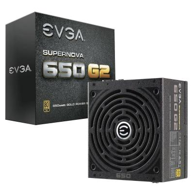 EVGA SuperNOVA 650 G2 Power supply unit - Zwart