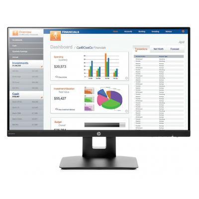 HP VH240a Monitor - Zwart