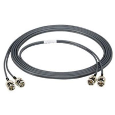 Black Box 7.6m BNC-BNC Coax kabel - Grijs