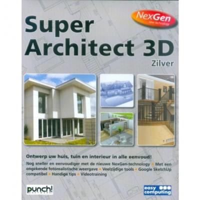Easy computing grafische software: Super Architect 3D Zilver Nexgen