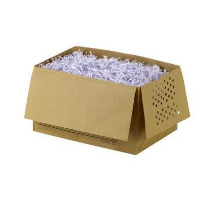 Rexel papier-shredder accesoire: Recyclable Shredder Waste Sacks 26 Litre Capacity (20) - Bruin