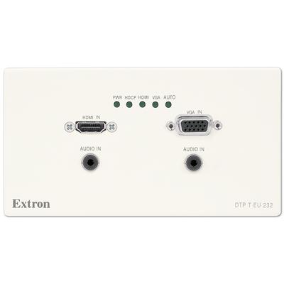 Extron DTP T EU 232 Wandzender - Wit