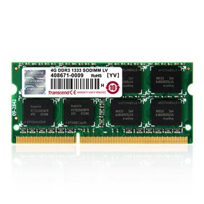 Transcend 4GB DDR3 RAM-geheugen