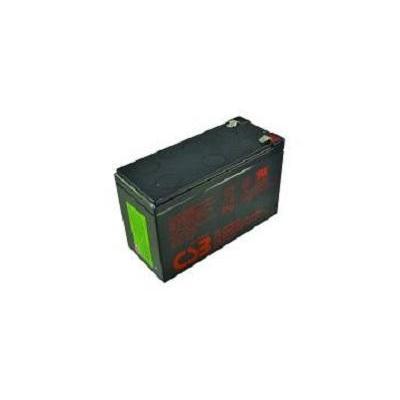 Csb UPS batterij: 12V 9Ah Lead Acid Battery - Zwart