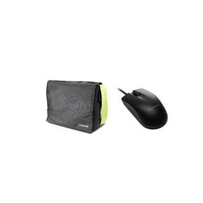 "Lenovo laptoptas: Case for IdeaPad 15""+ Mini Mouse M20A - Zwart, Groen"