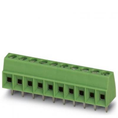 Phoenix contact elektrische aansluitklem: MKDS 1/ 4-3,81 - Groen