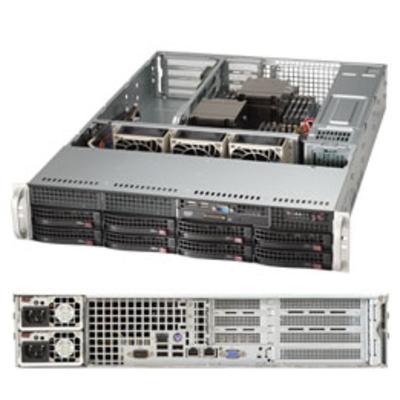 Supermicro SuperServer 6028R-WTRT Server barebone - Zwart