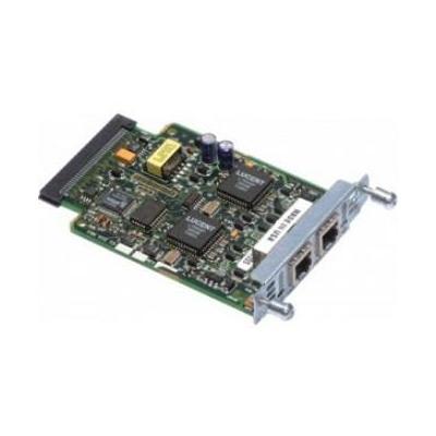 Cisco interfaceadapter: VIC-2BRI-NT/TE, voice/fax interface card (Open Box)