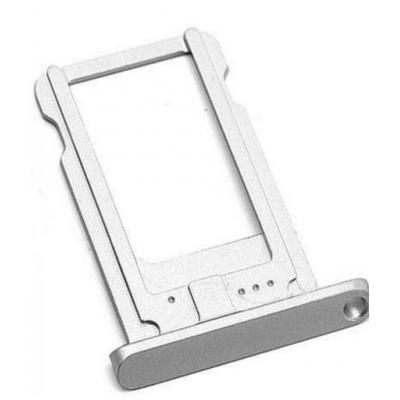 Microspareparts mobile : Nano SIMCard Tray Holder, Apple iPad Mini / Mini 2 - Zilver