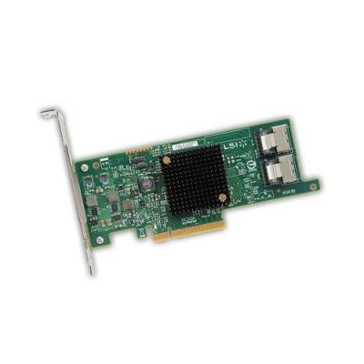 Dell interfaceadapter: LSI 9300-8e - Groen, Roestvrijstaal