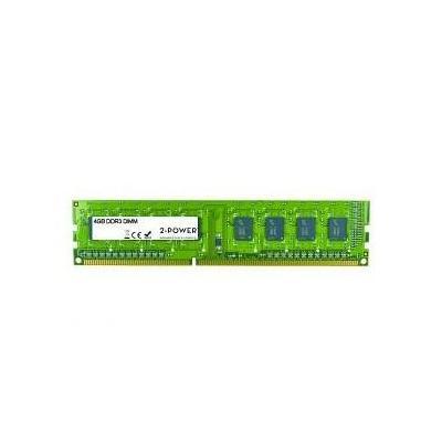 2-power RAM-geheugen: 4GB DDR3 1333MHz ECC + TS DIMM - Groen