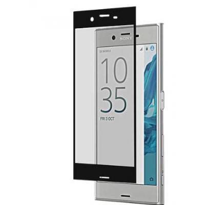 Roxfit screen protector: Xperia XZ Tempered Glass Protector - Zwart, Transparant
