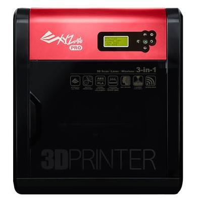 Xyzprinting 3D-printer: da Vinci 1.0 Pro 3D-printer 3-in-1 - Zwart, Rood