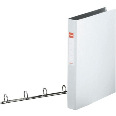 Esselte ringband: Standard Ring Binders , PP White 4x25 mm - Wit