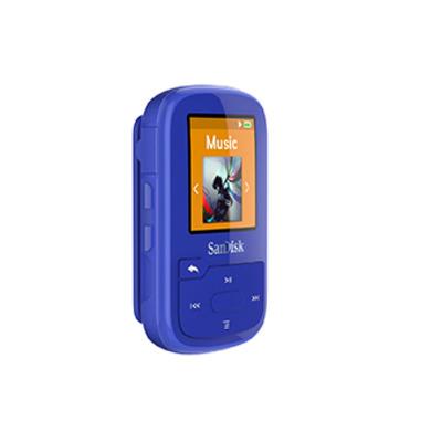 Sandisk MP3 speler: SDMX28-016G-G46B - Blauw