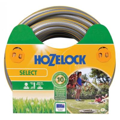 Hozelock tuinslang: tuinslang Select Ø 19 mm 50 meter - Grijs, Geel