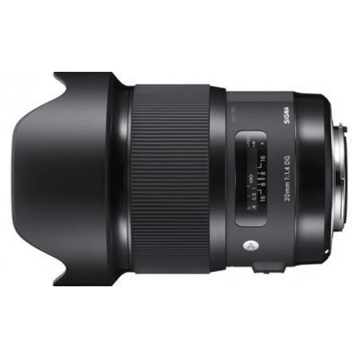Sigma camera lens: 20mm F1.4 DG HSM Art - Zwart