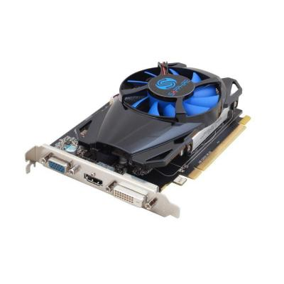 Sapphire videokaart: Radeon R7 250 2GB GDDR5 - Zwart, Blauw