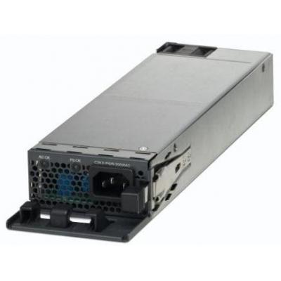 Cisco power supply unit: C3KX-PWR-1100WAC, 1100W AC power supply - Zwart, Grijs