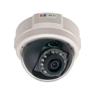 ACTi 2MP, Indoor, Dome, D/N, Adaptive IR, Basic WDR, SLLS, Fixed lens, f3.6mm/F1.85 (HOV:87.5°), H.264, .....