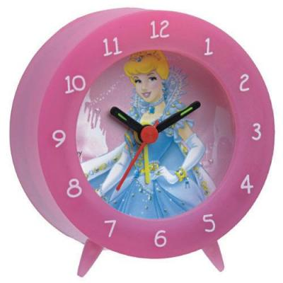 Technoline mantel/tafel klok: QU Princess 3 - Quartz clock, 1 x AA LR06 Mignon 1.5V - Roze