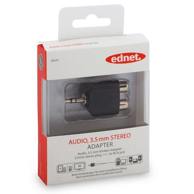Ednet 84547 Kabel adapter - Zwart
