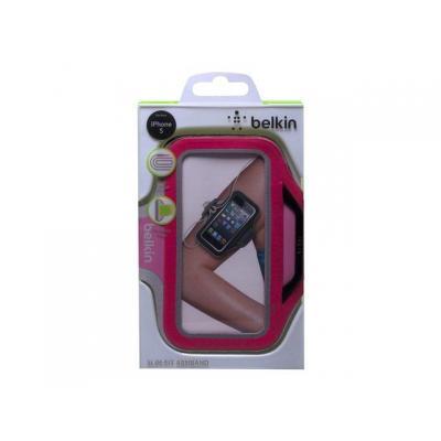 Belkin houder: Armband f/iPhone 5, Neoprene, Pink & Purple - Roze, Paars