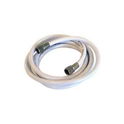 Maximum Coax cable kit w/f-conn 160 cm Cable type N46/RG6 Coax kabel - Wit