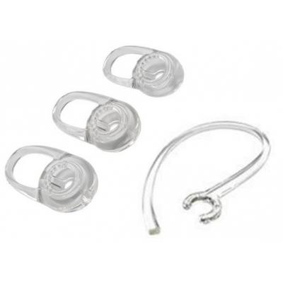 Plantronics koptelefoon accessoire: Replacement Eartips, 3x, small, Voyager Edge - Transparant