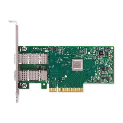 DELL Mellanox ConnectX-4 Lx Dual Port 25 Gigabit DA/SFP Network Adapter - Low Profile Netwerkkaart - Groen
