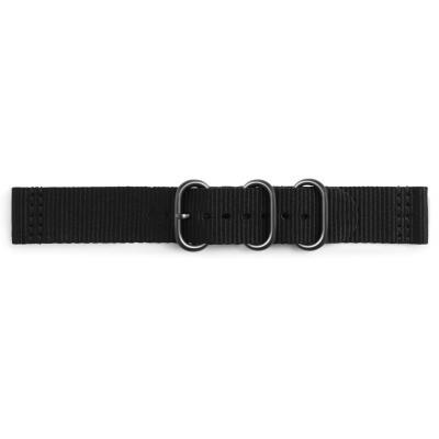 Samsung horloge-band: Premium Nato - Zwart