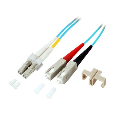 EFB Elektronik O0314.1 Fiber optic kabel - Turkoois