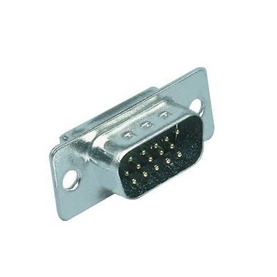 Valueline kabel connector: High-Density D-Connector - Zilver
