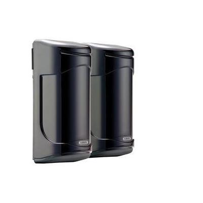 Abus beveiliging: infrared Light beam, 60 m, IP55, 10-30 V - Zwart