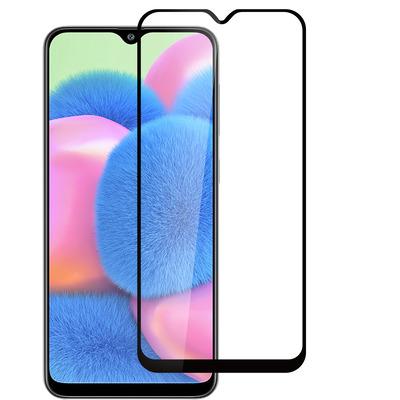 ESTUFF Samsung Galaxy A30s Screen protector - Zwart,Transparant
