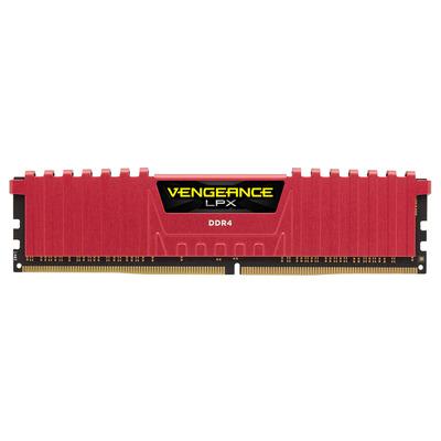 Corsair RAM-geheugen: Vengeance LPX 16GB DDR4 - Rood