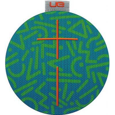 Logitech draagbare luidspreker: UE ROLL 2 - Blauw, Groen, Grijs